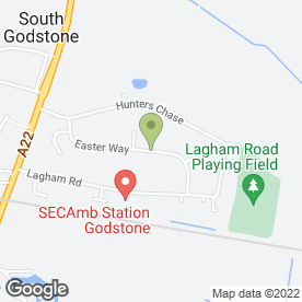 Map of R.I Colman in South Godstone, Godstone, surrey