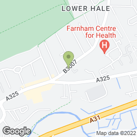 Map of Knowles Keith Fcca in Farnham, surrey