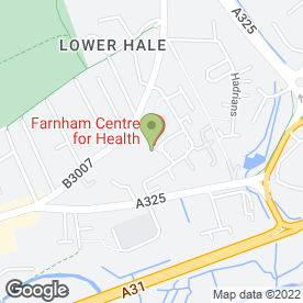 Map of River Wey Medical Practice in Farnham, surrey