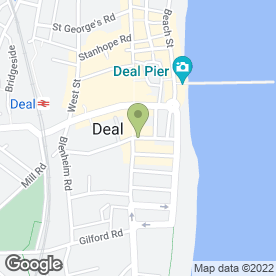Map of Another Service Ltd in Deal, kent