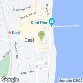 Map of Mac's in Deal, kent