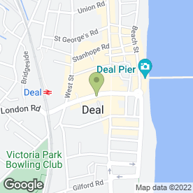 Map of Deal Discount Domestics in Deal, kent