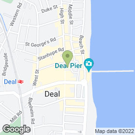 Map of Costa in DEAL, kent