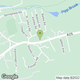 Map of Livingstone Dunn Plumbing Services in Dorking, surrey