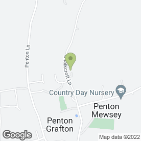 Map of Icons of Britain Ltd in Penton Mewsey, Andover, hampshire