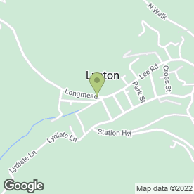Map of Drivers in Lynton, devon