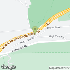 Map of Pantech Auto Technicians Ltd in Guildford, surrey