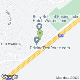Map of SOUTHERN PLUMBING & HEATING in Hatch Warren, Basingstoke, hampshire