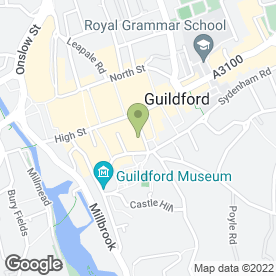 Map of TRADITIONAL BRICKWORK SOUTH EAST in Guildford, surrey