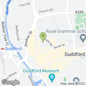 Map of DA GENNARO in Guildford, surrey