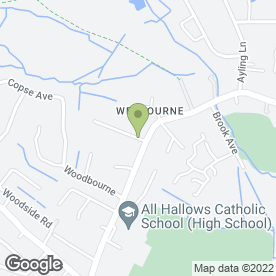 Map of White Knight Accounting Ltd in Weybourne, Farnham, surrey