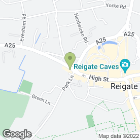 Map of Casablanca in Reigate, surrey