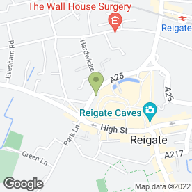 Map of Mr Exhaust.co.uk in Reigate, surrey