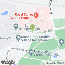 Map of Caring Daycare in Guildford, surrey