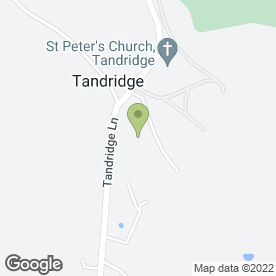 Map of M Barratt Aerials in Tandridge, Nr Oxted, surrey