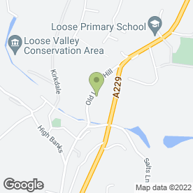 Map of Loose P.O in Loose, Maidstone, kent