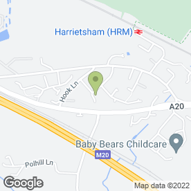 Map of CL Builders in Harrietsham, Maidstone, kent