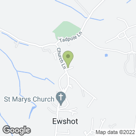 Map of Ewshott Plant & Demolition Co in Ewshot, Farnham, surrey