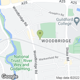 Map of www.molyneuxwoodworks.co.uk in Guildford, surrey