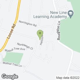 Map of Atlantic Electrical in Halstow Close, Maidstone, kent