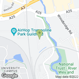 Map of Southern Area Brickwork Ltd in Guildford, surrey