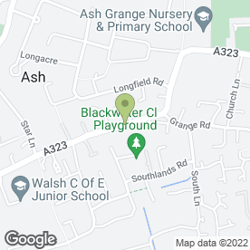 Map of The Forge Works in Ash, Aldershot, hampshire