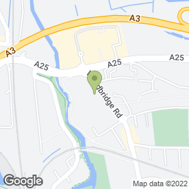 Map of National Tyres and Autocare in Guildford, surrey