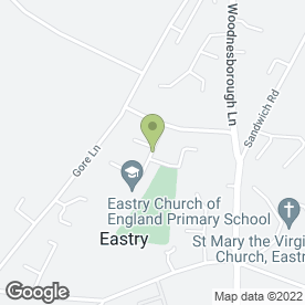 Map of The Whistling Gardener in Eastry, Sandwich, kent