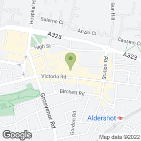 Map of Sugar & Spice in Aldershot, hampshire