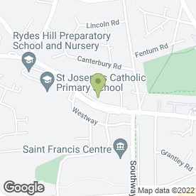 Map of CSR PLUMBING SERVICES in Guildford, surrey