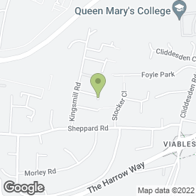 Map of Sexy Goddess Hair Extensions in Basingstoke in Basingstoke, hampshire