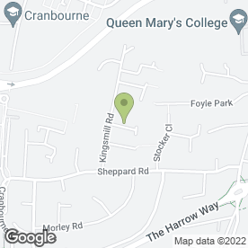 Map of Beijing House in Basingstoke, hampshire