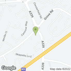 Map of Holiday Inn Basingstoke in Basingstoke, hampshire