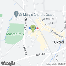 Map of Inches Of Oxted in Oxted, surrey