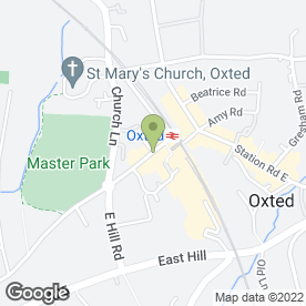 Map of Cafe Papillon in Oxted, surrey