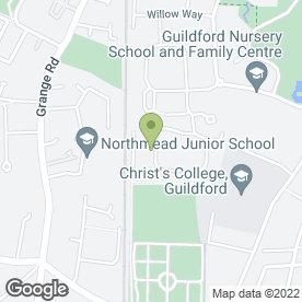 Map of CAGNEE ROADSHOW in Guildford, surrey