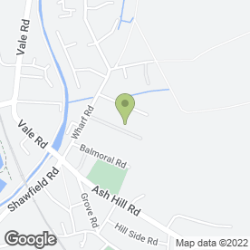 Map of Girling Pipeworks in Ash Vale, Aldershot, hampshire