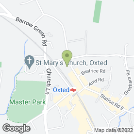 Map of Baldwin & Robinson Law LLP in Oxted, surrey