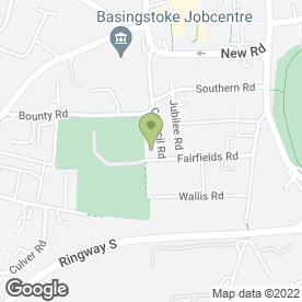 Map of Fairfields Primary School in Basingstoke, hampshire