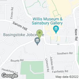Map of Chequers Estate Agents in Basingstoke, hampshire