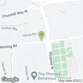 Map of Hatchlings Nursery School in Basingstoke, hampshire