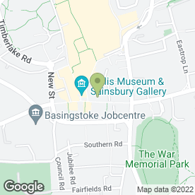 Map of Foyles in Basingstoke, hampshire
