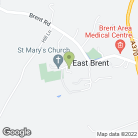 Map of East Brent Pre-School in East Brent, Highbridge, somerset