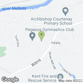 Map of A2B Limousines in Tovil, Maidstone, kent