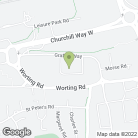 Map of D & M Precision Engineering in Basingstoke, hampshire