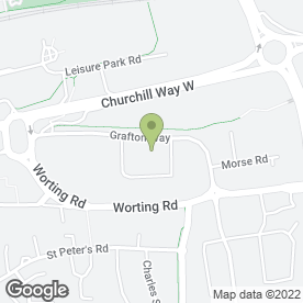 Map of Care Guard Security Ltd in Basingstoke, hampshire