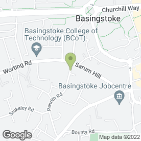 Map of JCH Plastering in Basingstoke, hampshire