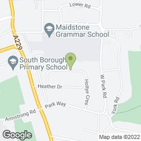 Map of The Happy Apple in Maidstone, kent