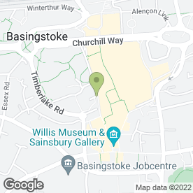 Map of WAXWORKS in Basingstoke, hampshire