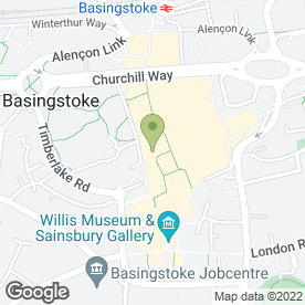 Map of Mr Munch in Basingstoke, hampshire